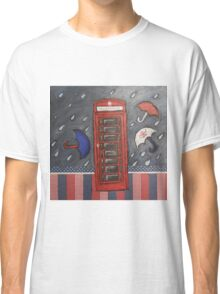 Rainy Day In London Classic T-Shirt