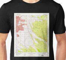 USGS TOPO Map Arizona AZ Tucson East 313820 1957 24000 Unisex T-Shirt