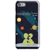 Carl Sagan Alien Love iPhone Case/Skin