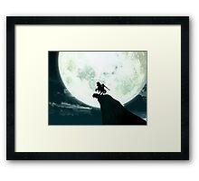 Zelda Moon Framed Print