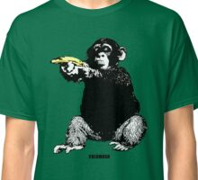 MONKEY SHOOTING BANANA Classic T-Shirt