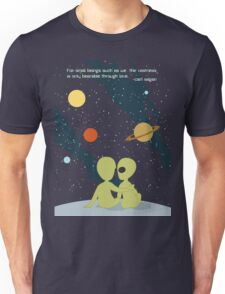 Carl Sagan Alien Love Unisex T-Shirt