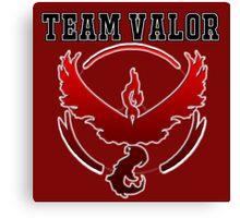 Team Valor Jersey/School Style Canvas Print
