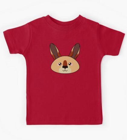 Kangaroo - Australian animal design Kids Tee