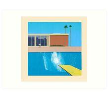 David Hockney A Bigger Splash Art Print