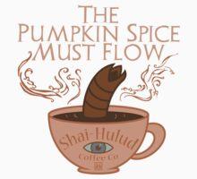The Pumpkin Spice Must Flow Kids Tee