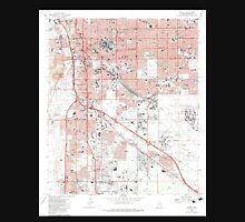 USGS TOPO Map Arizona AZ Tucson 313817 1983 24000 Unisex T-Shirt