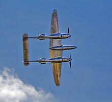 Lockheed P-38 Lightning - Red Bull by Holger Mader
