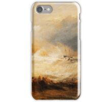 Wreckers Coast of Northumberland by JMW Turner iPhone Case/Skin