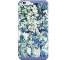 Blue and White Daisies iPhone Case/Skin
