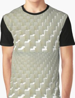 Abstract Cubs Texture Graphic T-Shirt