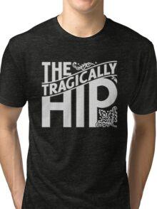 THE TRAGICALLY HIP WHITE Tri-blend T-Shirt