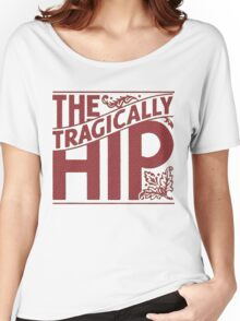 THE TRAGICALLY HIP RED Women's Relaxed Fit T-Shirt