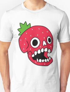 Strawberry Skull Unisex T-Shirt