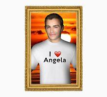 Dave Franco Loves Angela Unisex T-Shirt