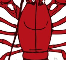 Lobster Seafood Sticker