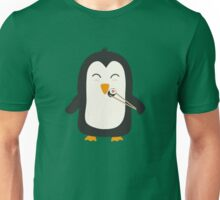 Penguin with sushi Unisex T-Shirt