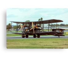 Vickers Vimy IV replica G-AEOU NX71MY Canvas Print