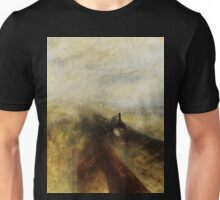 Rain, Steam and Speed by JMW Turner Unisex T-Shirt