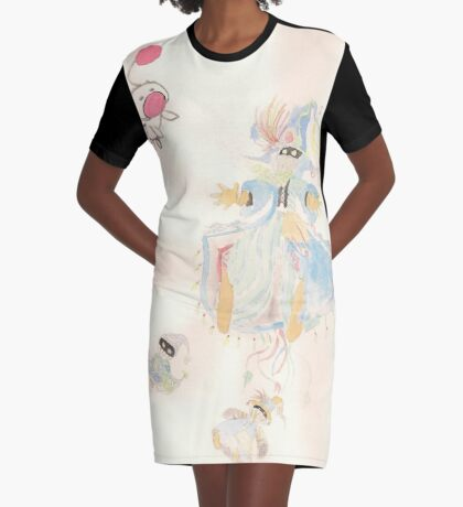Vivi Orunitia Graphic T-Shirt Dress