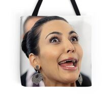 Kim Kardashian Face Tote Bag