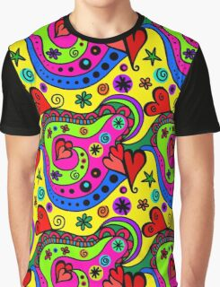 seamless Drawing Graphic T-Shirt