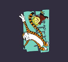 Calvin and Hobbes Dancing left Unisex T-Shirt