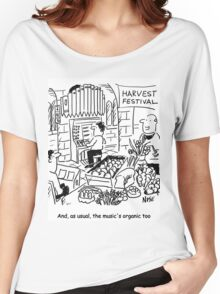 Harvest Festival Church Service Women's Relaxed Fit T-Shirt