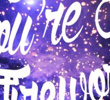 Baby You're A Firework Sticker