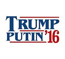 trump putin 2016 Photographic Print