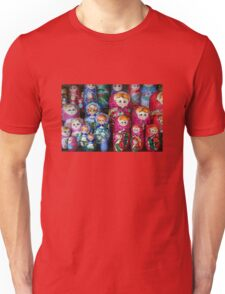 Matrioshka, russian set of dolls Unisex T-Shirt