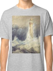 Bell Rock Lighthouse by JMW Turner Classic T-Shirt