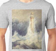 Bell Rock Lighthouse by JMW Turner Unisex T-Shirt