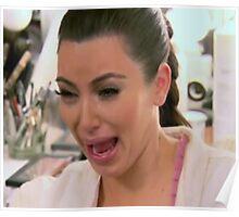 Kim Kardashian Face 2 Poster