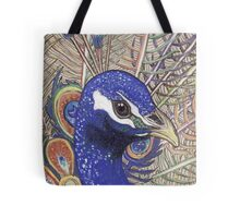 Peacock 2 Tote Bag