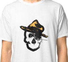 Skull with Fedora Classic T-Shirt