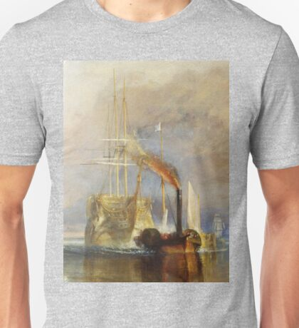 The Fighting Temeraire by JMW Turner Unisex T-Shirt