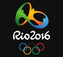 Rio 2016 - jogos olímpicos (Black) Unisex T-Shirt