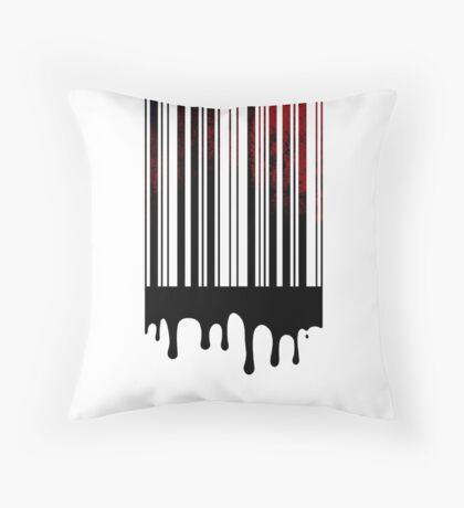 bloodcode Throw Pillow