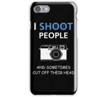 Photographer iPhone Case/Skin