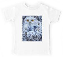 Designs Inspired By Nature: Snowy Owl Kids Tee