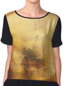 Light and Colour by JMW Turner Chiffon Top