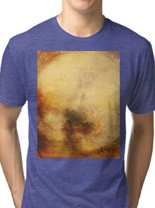 Light and Colour by JMW Turner Tri-blend T-Shirt