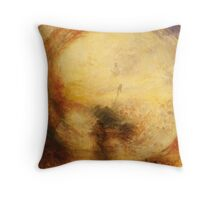 Light and Colour by JMW Turner Throw Pillow