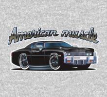 Cartoon muscle car Baby Tee