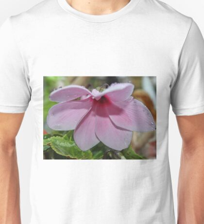 Cyclamen & Dew Drops Unisex T-Shirt