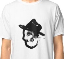 Skull with Fedora #2 Classic T-Shirt