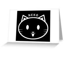NEKO Greeting Card