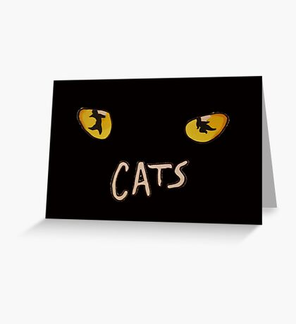 CATS! Greeting Card