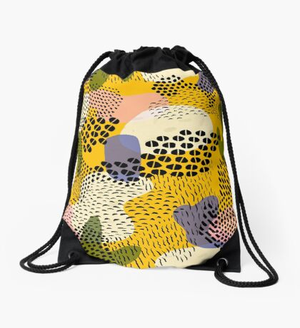 Piña Colada Drawstring Bag